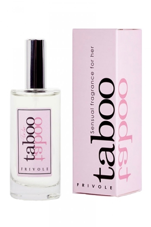 Parfum d'attirance Taboo Frivole - Eau de toilette aphrodisiaque pour elle TABOO Frivole.